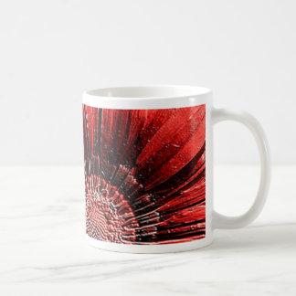unvergleichlich schöne Blüten rot Tasse