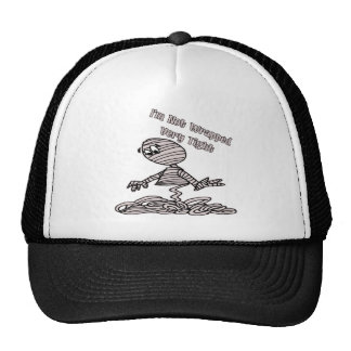 Unwrapped Mummy Trucker Hats