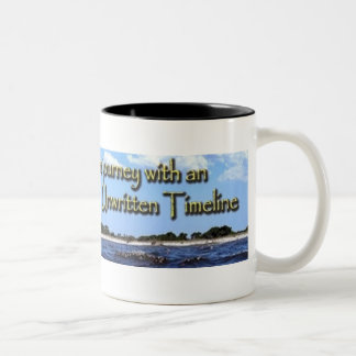 Unwritten Timeline coffee mug