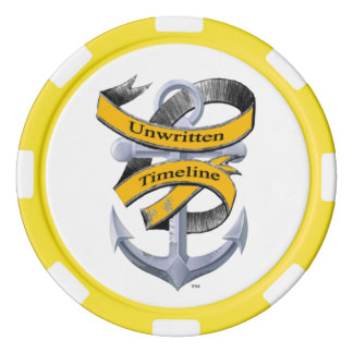 Unwritten Timeline Poker Chips