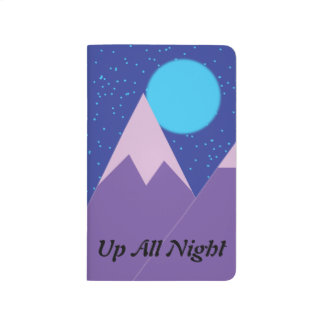 Up All Night Pocket Journal