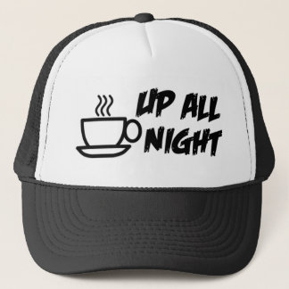 Up All Night Trucker Cap