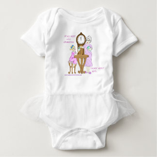 Up All Night With Grandma..Just Talkin' About Boys Baby Bodysuit