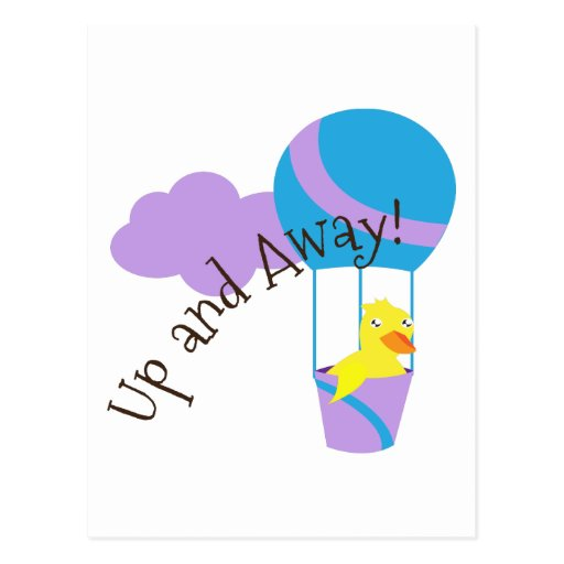 Up and Away Postcards