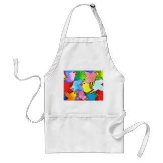 Up and Down Birds Apron