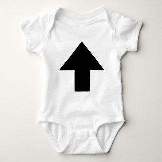 up arrow baby bodysuit