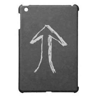Up Arrow. Gray. Cover For The iPad Mini