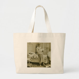 Up at 3 am - Vintage Canvas Bag
