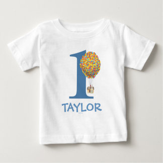 UP Birthday | Name & Age Baby T-Shirt