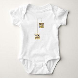 Up-Down Yoyo No Background Babygro Baby Bodysuit