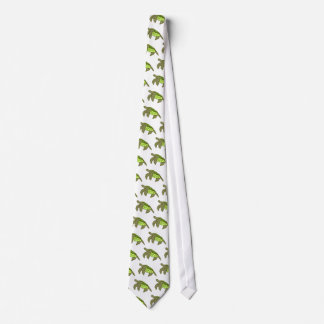 Up for air sea turtle tie
