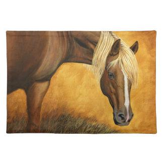 Up For Auction - Quarter Horse Placemat