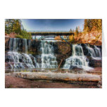 Up Gooseberry Falls Note Card