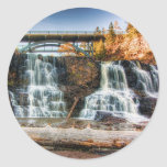 Up Gooseberry Falls Round Sticker