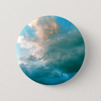 Up In The Clouds 6 Cm Round Badge