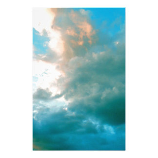Up In The Clouds Personalised Stationery