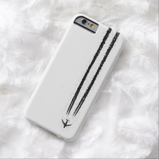 Up in the Sky/High Altitude Airplane Contrail Barely There iPhone 6 Case