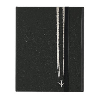 Up in the Sky/High Altitude Airplane Contrail iPad Cover