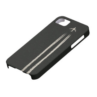Up in the Sky/High Altitude Airplane Contrail iPhone 5 Covers