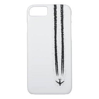 Up in the Sky/High Altitude Airplane Contrail iPhone 7 Case
