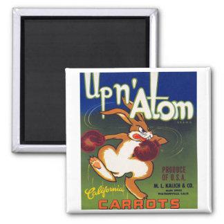 Up n' Atom California Carrots Magnet