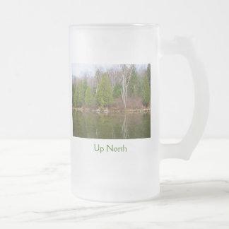 Up North Glass Beer Mugs