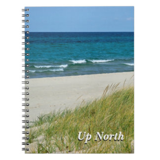 Up North Great Lakes in Summer Journal Spiral Note Book