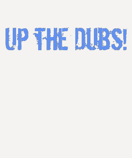 Up the Dubs Women's long sleeve top Tees