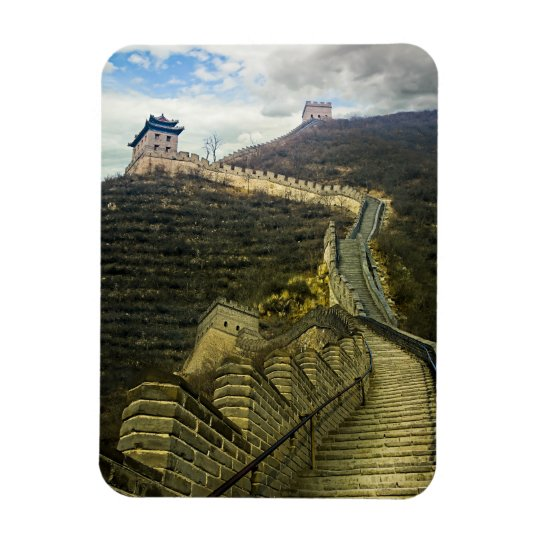 Up the Great Wall Magnet