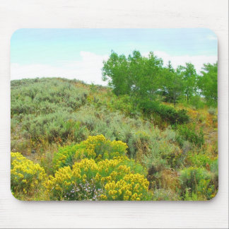 Up the hill,grand teton national park. mousepad