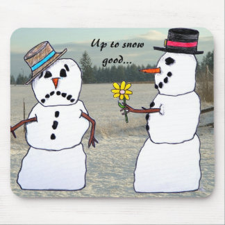 Up to snow good... mouse pad