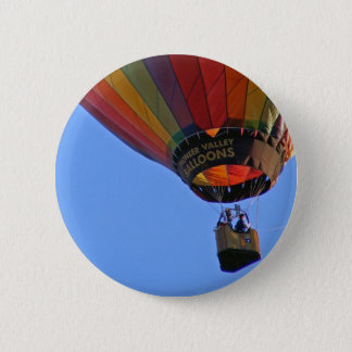 """Up, up and away"" 6 Cm Round Badge"