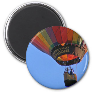 """""""Up, up and away"""" 6 Cm Round Magnet"""