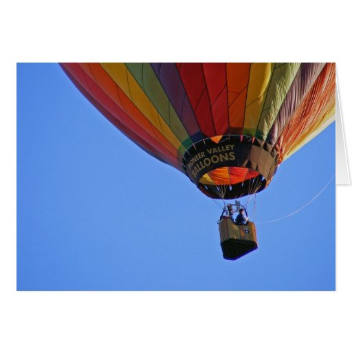 """""""Up, up and away"""" Greeting Cards"""