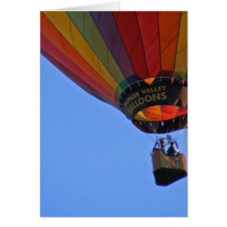 """""""Up, up and away"""" Greeting Card"""