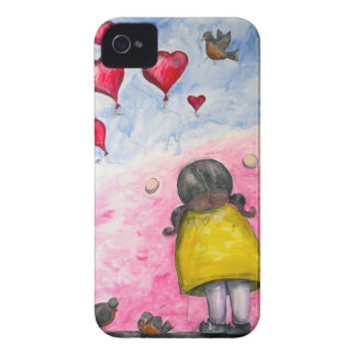 """""""Up, up and away!"""" iPhone case"""