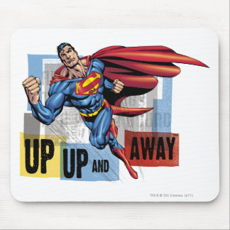 Up, up and away mouse mat