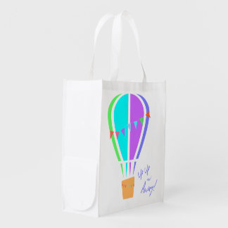 Up Up and Away! Reusable Grocery Bag
