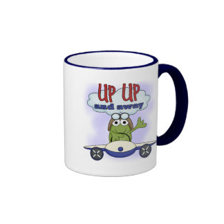 Up Up and Away Tshirts and Gifts Mugs