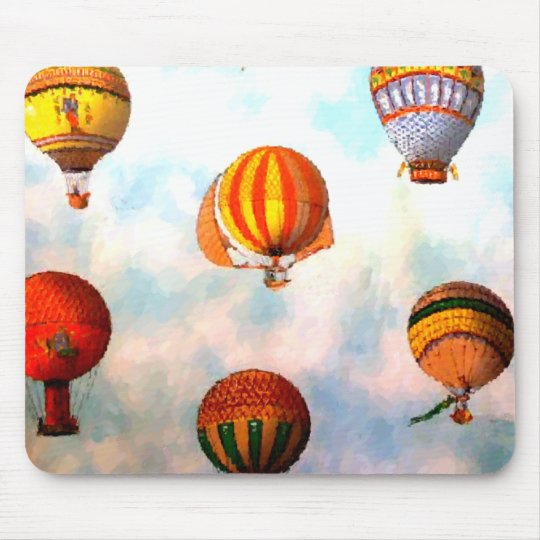 Up Up & Away Mouse Mat