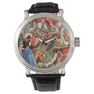 Up You Lazy Thing Says Queen to Alice Watch