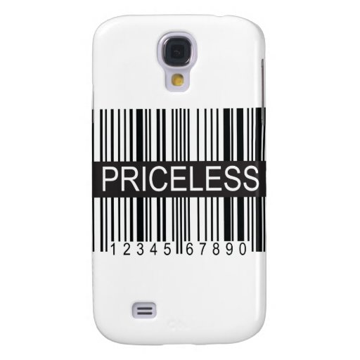 upc Code Priceless Samsung Galaxy S4 Cover