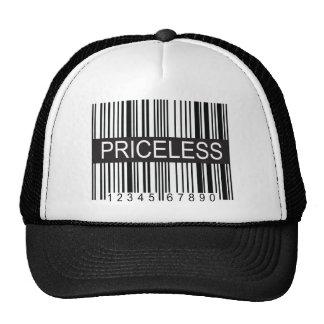 upc Code Priceless Hats