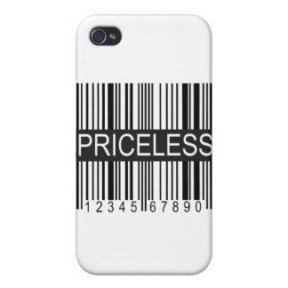 upc Code Priceless iPhone 4/4S Case