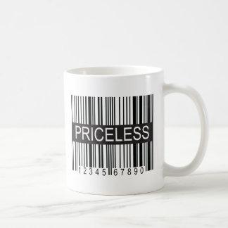upc Code Priceless Coffee Mug