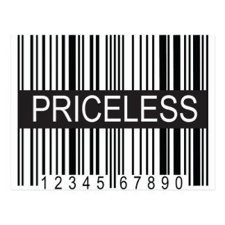 upc Code Priceless Post Cards