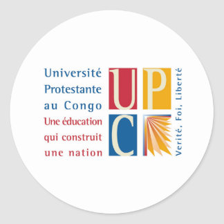 UPC Logo Sticker