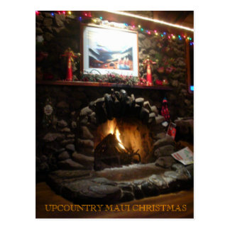Upcountry Maui Christmas - Customized Postcard