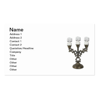 Updated Candelabra Double-Sided Standard Business Cards (Pack Of 100)