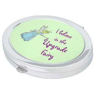 Upgrade Fairy Cute Cruise Humor Travel Mirror
